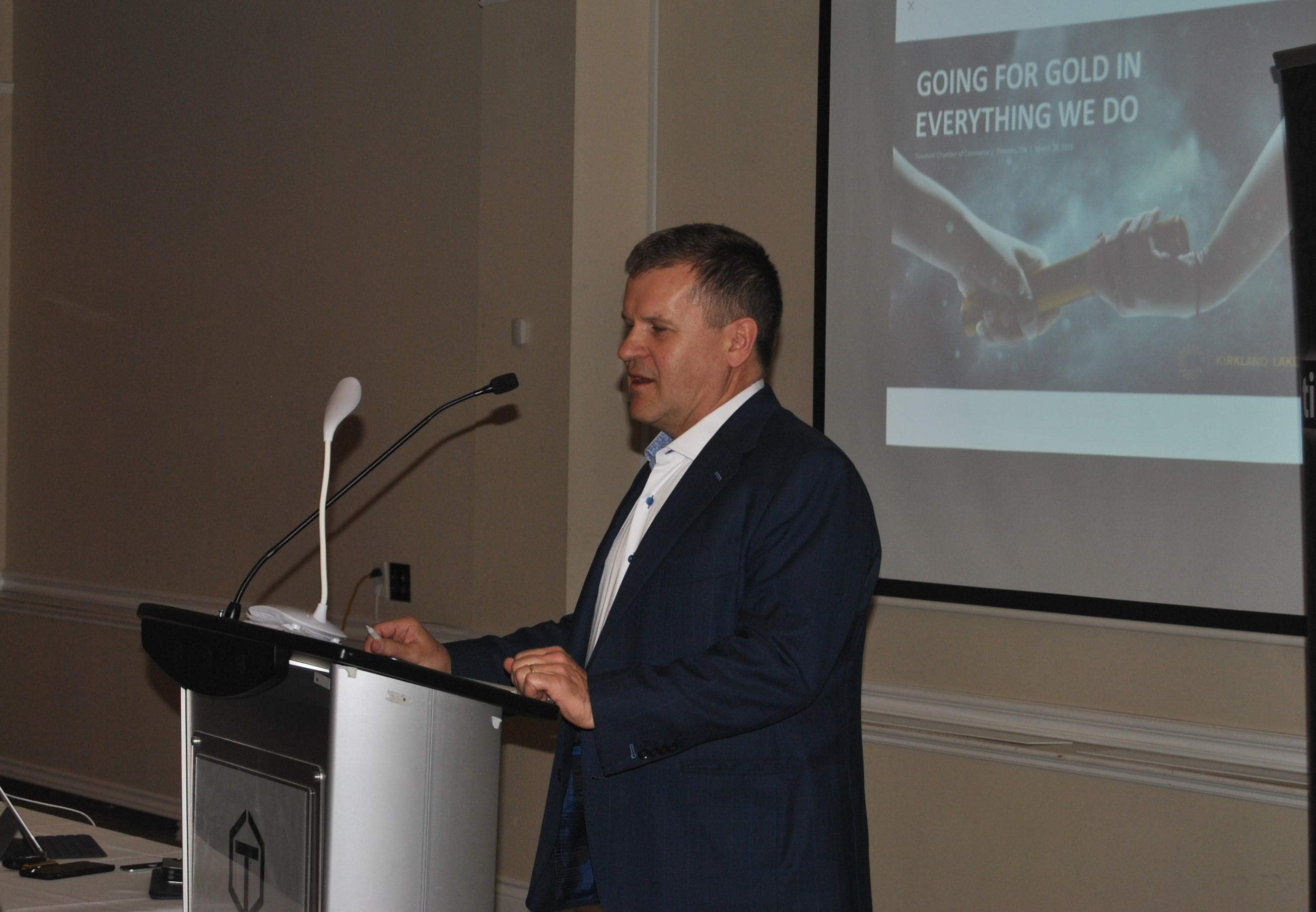 Tony Makuch, President and CEO Kirkland Lake Gold. Photo: Frank Giorno